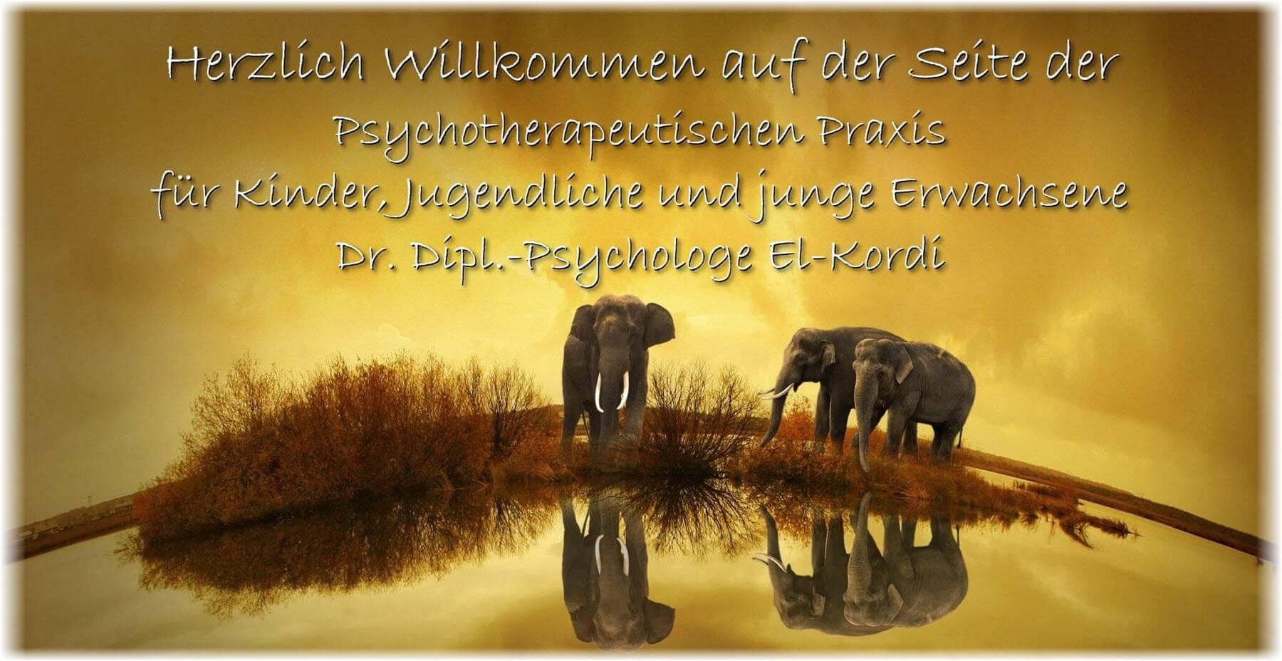 Kinder und Jugendpsychotherapeut El-Kordi Ahmed Monia Albert Schwäbisch Hall Psychotherapie Psychotherapeut